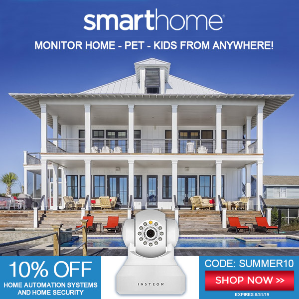 Smarthome 10% OFF coupon SUMMER10