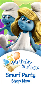 Smurfs Birthday Supplies and Personalized Items