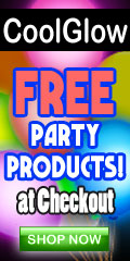 free led cool glow teen party supplies with every order