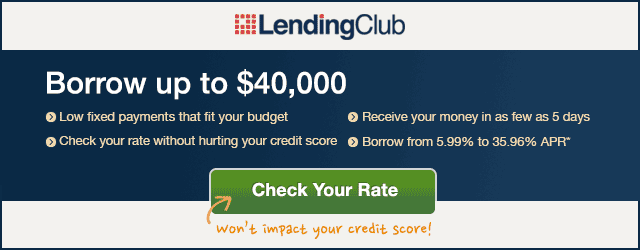 Pay off debt with Lending Club