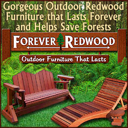 Beautiful outdoor furniture that lasts FOREVER!