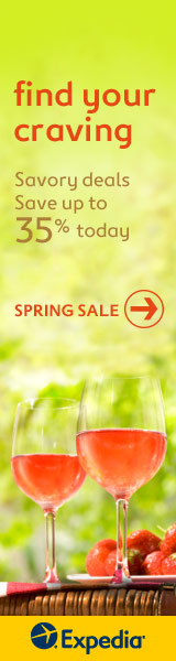 Find your craving with Expedia and save up to 35% on hotels this spring!