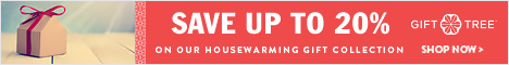 Save Up To 20% On Our Housewarming Gift Collection
