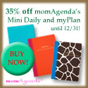 35% off momAgenda's Mini Daily and myPlan until 12