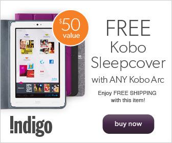 Free Kobo SleepCover with Any Kobo Arc!