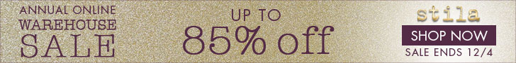 Up to 85% Off | Stila's Annual Online Warehouse Sale
