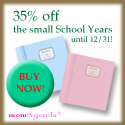 35% off the small School Years until 12/31!