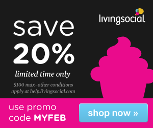 Save 20% on all LivingSocial Deals: Sacramento and Beyond