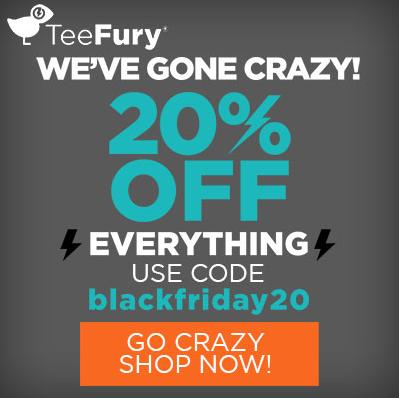 TeeFury Black Friday Sale
