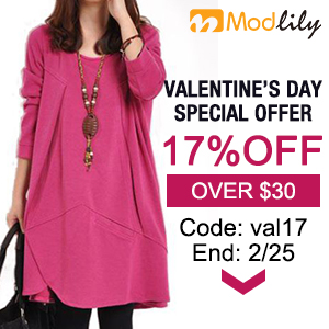 Valentine's Day 17% off over $30