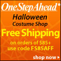 Halloween Costume Shop! Free Shipping $85+