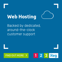 123 Reg UK web hosting