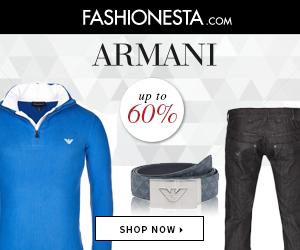 Armani outlet for men