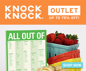 Knock Knock Outlet - Up to 75% Off