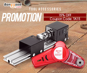 15% OFF for Tool Accessories Promotion