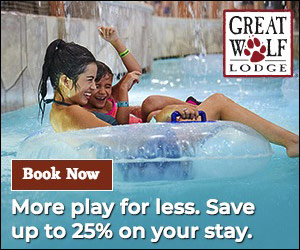 Feature 14: Great Wolf Lodge: Save up to 25% Ends Dec 30 2019