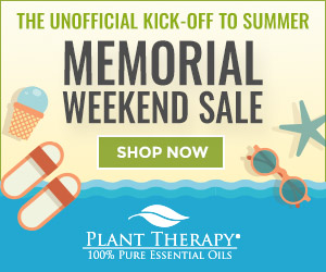 THIS WEEKEND ONLY! Get 15% Off Select Oils, Roll-Ons, & ALL Hydrosols at Plant Therapy!
