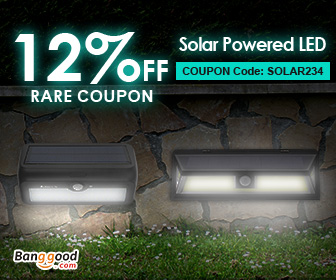 12% OFF for Outdoor Solar