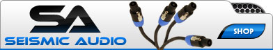 Buy Audio Cables & More From Seismic Audio Speaker