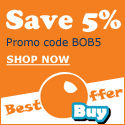 Save 5% + Free Shipping At BestOfferBuy.com
