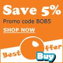 Save 5% + Free Shipping At BestOfferBuy.com