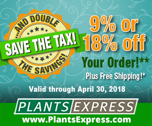 Save the Tax* from Plants Express