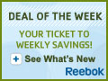 Reebok's Deal of the Week: See What's New!
