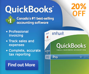Save 20% Off QuickBooks 2012 Accounting Software - Limited Time Only!