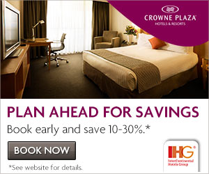 Crowne Plaza Hotels -מלונות קראון פלאז'ה
