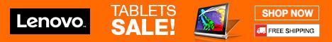 Lenovo Tablets Sale! 468x60