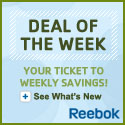 Reebok's Deal of the Week