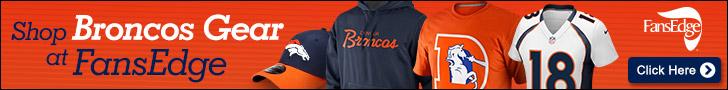 Shop for Denver Broncos fan gear at FansEdge.com!