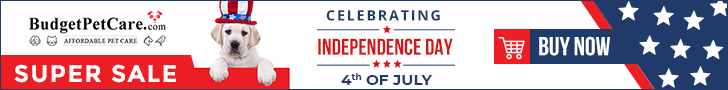 Independence Day Super Sale at BudgetPetCare.com