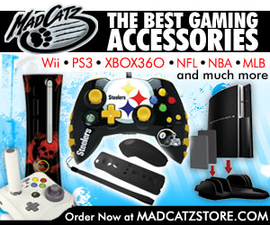 Get your Mad Catz Video Game Accessories.