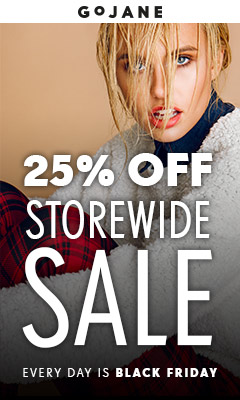 25% Off Regular Priced Styles at GoJane.com!