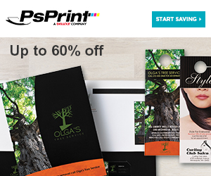 SAVE on full color printing at PsPrint!