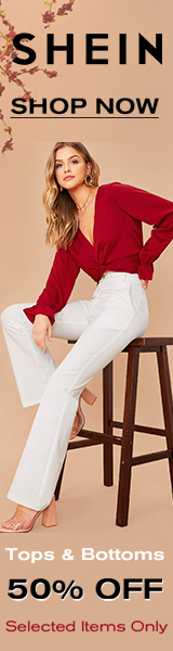 Take 50% Off Tops and Bottoms at us.SHEIN.com. No Code Required. Offer Expires 01/20/2020