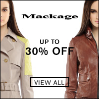 Mackage Summer Sale | Up to 30% Off