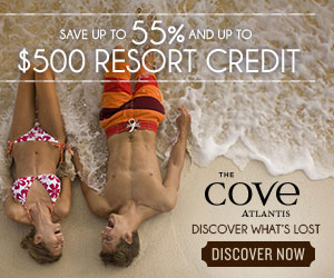 Up to 55% and up to $500 Resort Credit