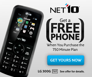 Net10 Prepaid Wireless - Talk across the U.S. for just 10¢ per minute. Click Here.