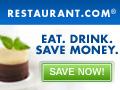 $25 Restaurant Gift Certificates for only $10!