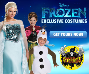 Shop Spirit Halloween for a great selection of exclusive costumes from Disney's Frozen. Click here!