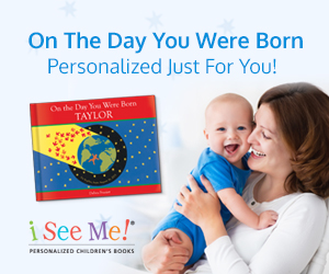 NEW - On the Day You Were Born - Personalized from ISeeMe!