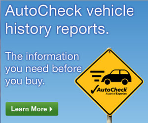 Experian Automotive - Auto Check Banner Ad