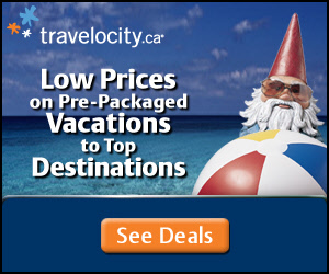 Low prices on pre-packaged vacations to to