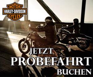 Harley-Davidson Probefahrt Schweiz