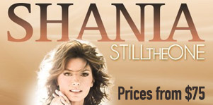 Shania Twain Live in Vegas - Tickets from $75!