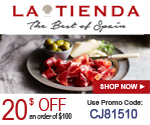 $20 off Your Order of $100+ at Tienda.com with Coupon CJ81510