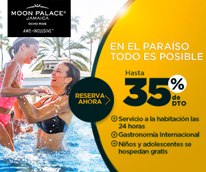 Vacaciones con Todo Incluido en Moon Palace Jamaica.