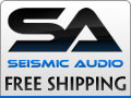 Free Shipping At Seismic Audio Speakers